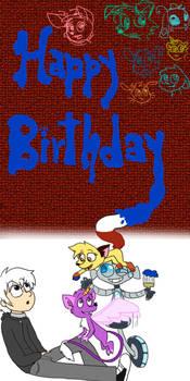 Happy birthday Kiki-kit by calomviih