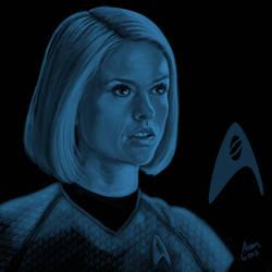 Star Trek portrait series 09 - Carol Marcus - Eve by jadamfox