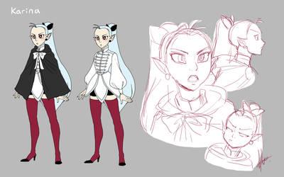 Karina the vampire by yuramec