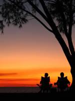 Peace at Casuarina Beach by pitiso