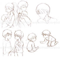 Scamanders Sketchdump by aisaretai794