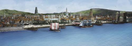 Fantasy City by Araiel