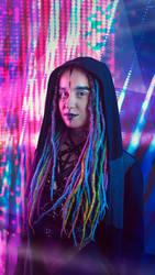 Cyberpunk Character by Araiel