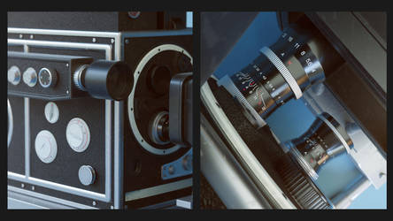 3D Vintage Camera by Araiel