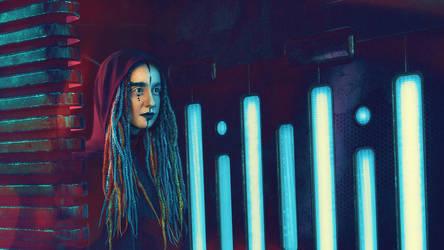 Cyberpunk CGI Photoshoot 001 by Araiel