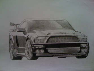 Knight Rider Mustang by Naje7