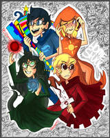 .Homestuck. by Zamiiz