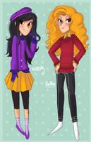 Wendy and Bebe. by Zamiiz