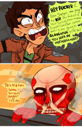 SNK: Anger Issues by Zamiiz
