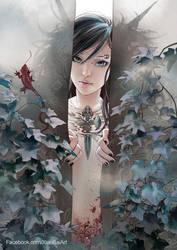 Spirit of Aquamarine by XiaoBaiArt
