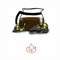 Elemental Mugs: Fire by pro-mole