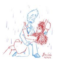 Apr 16th: A Little Fall of Rain by pro-mole
