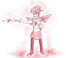 Sketch Dailies: Cupid by pro-mole