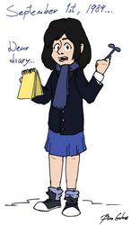 Dear Diary... by pro-mole