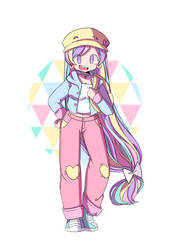 Pastel Girl Challenge by DrawWhatYouLike