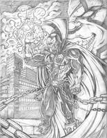 Spawn and Violator Pencils by RAM by robertmarzullo