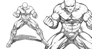 Streamer Comic book art by RAM by robertmarzullo