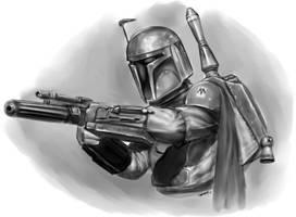 Star Wars - Boba Fett by robertmarzullo