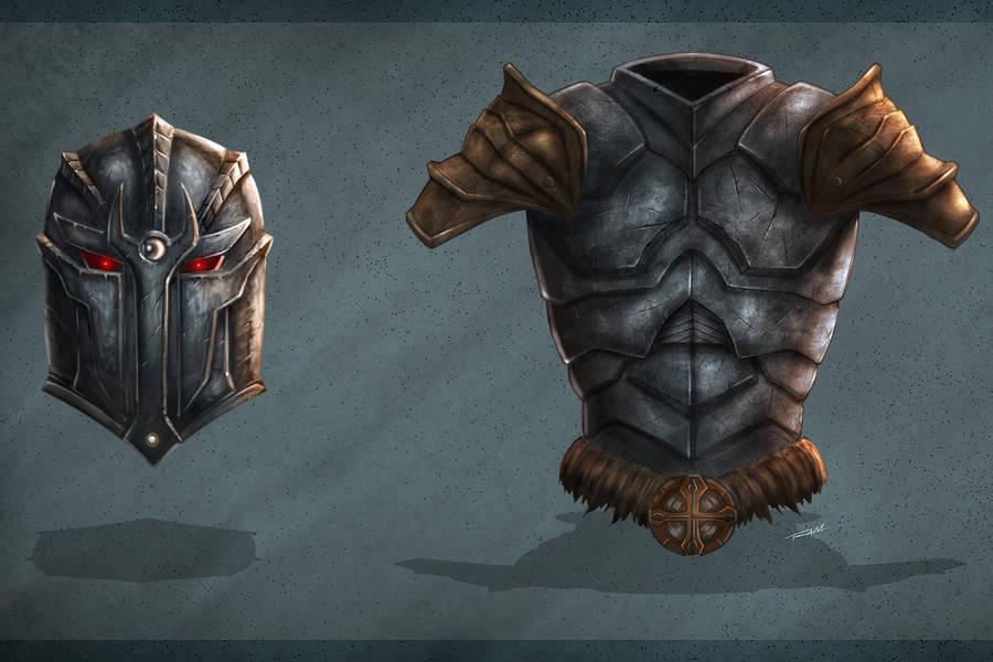 Armor Concept Art by robertmarzullo