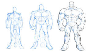 How to Draw a Massive Muscular Superhero by robertmarzullo