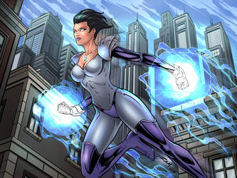 Power Woman by robertmarzullo