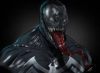 Venom 3D Art by robertmarzullo