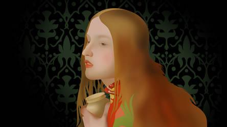 Mary Magdalene Close (4K) by TheGoldenBox
