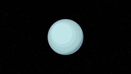 Uranus (4K) by TheGoldenBox