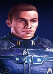 Arther Shepard - Mass Effect by Balticdragon