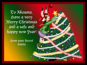 Secret Santa  Gifty for Akouma by bittykitty
