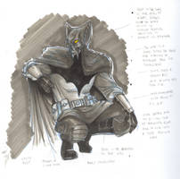 Redesign - Batman by christiano-flexa