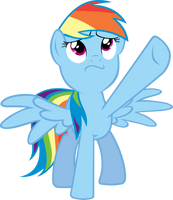 Resolute Rainbow Dash by Sairoch