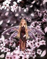 Fairy Blossoms by susanschroderarts