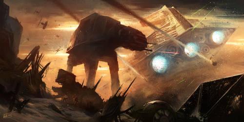 Star Wars - Sands of Jakku by Blues-Design