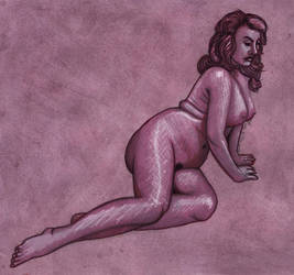 Life Drawing - Mulberry by Juandfr