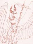 Snake Bull Angel by Juandfr