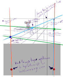 Paint Tool Sai 2 3 Point Perspective Tutorial by Juandfr