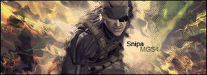 Metal Gear Solid 4 Signiture by Nova-Designs
