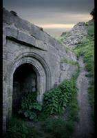 Doorway by bale