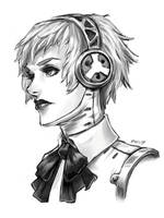 Aigis Sketch by Sessie