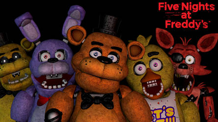 (SFM/FNAF): Five Nights at Freddy's Group Picture by AntonioRodriguez1000