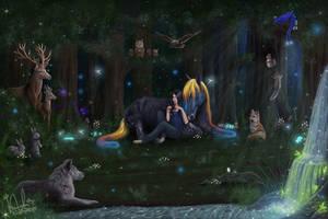 Midnight Lullabies by RisingAngelss