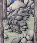 Stone Dragon by ChaosRuby