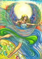 Rainbow Angel by ChaosRuby
