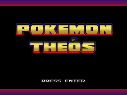 Pokemon Theos Title Screen by WaterTrainer