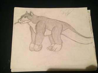 Creature sketch  by TyrantGojira
