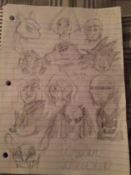 Sketch dump.  by TyrantGojira