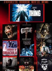 My Top 10 Horror Films.  by TyrantGojira