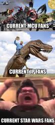 Star Wars Fanbase meme.  by TyrantGojira