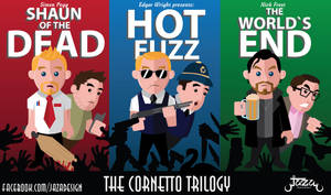 The Cornetto Trilogy by JaZaDesign